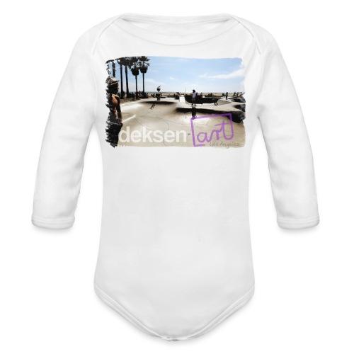 Los Angeles Part 2 - Baby bio-rompertje met lange mouwen