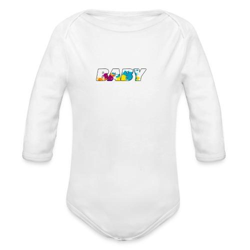 LOGO BABY GARCON - Body bébé bio manches longues