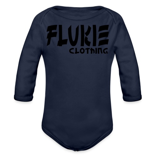 Flukie Clothing Japan Sharp Style - Organic Longsleeve Baby Bodysuit