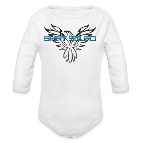 Shirt Squad Logo - Organic Longsleeve Baby Bodysuit
