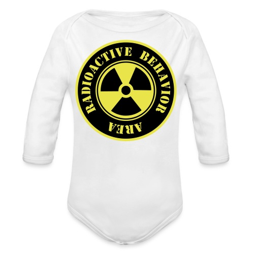 Radioactive Behavior - Body orgánico de manga larga para bebé