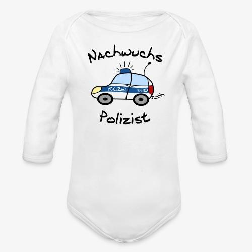 Nachwuchs Polizist - Baby Bio-Langarm-Body