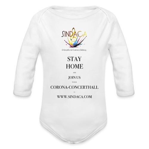 stay home01 - Baby Bio-Langarm-Body