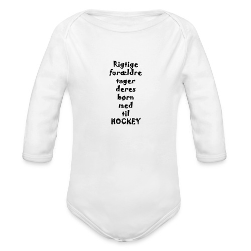 Rigtige forældre tager png - Organic Longsleeve Baby Bodysuit