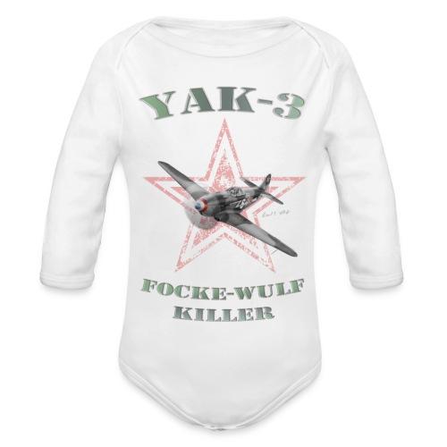 YAK n6 FWkiller15 copie2 - Body Bébé bio manches longues