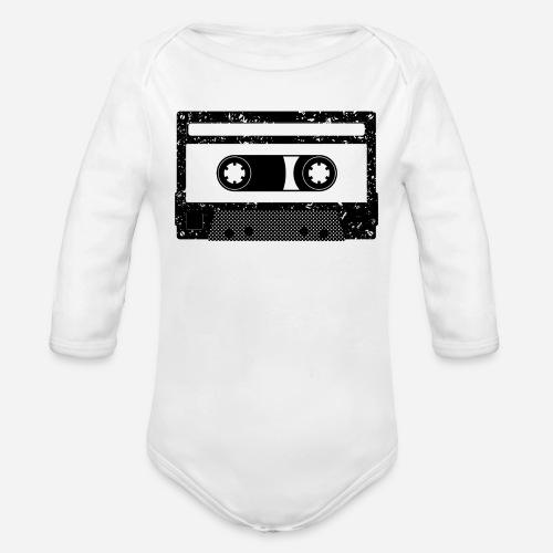 Kassette | Kompaktkassette | Compact Cassette - Baby Bio-Langarm-Body