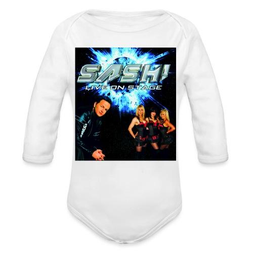 SASH! Live - Organic Longsleeve Baby Bodysuit
