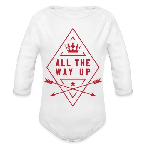 atwu_red - Organic Longsleeve Baby Bodysuit