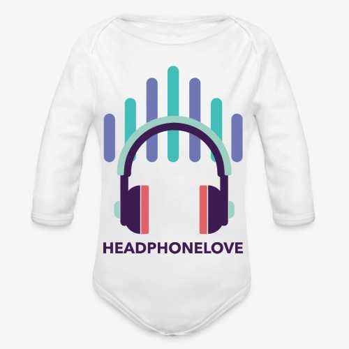 headphonelove - Baby Bio-Langarm-Body