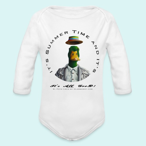 El Pato Loco - Organic Longsleeve Baby Bodysuit