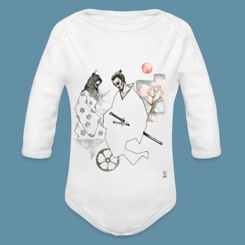 Samurai copia jpg - Body ecologico per neonato a manica lunga