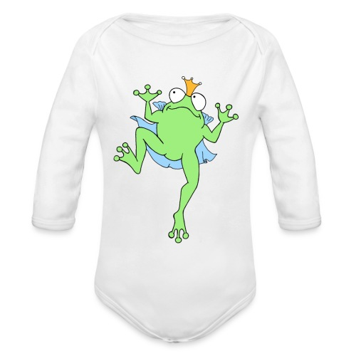 Froschkönig - Baby Bio-Langarm-Body
