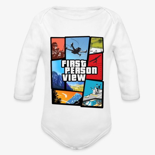 Ultimate Video Game - Organic Longsleeve Baby Bodysuit