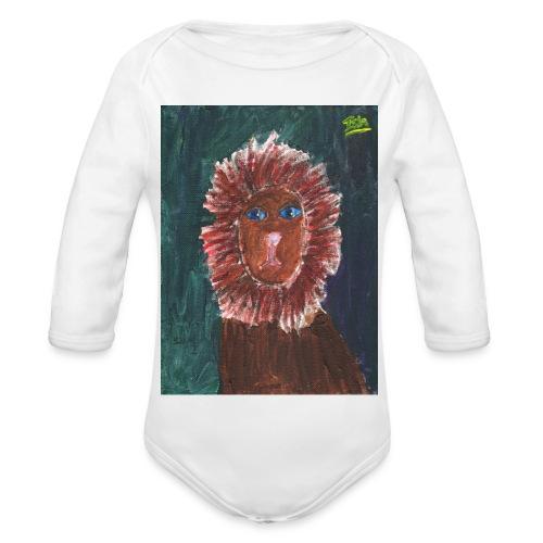 Lion T-Shirt By Isla - Organic Longsleeve Baby Bodysuit