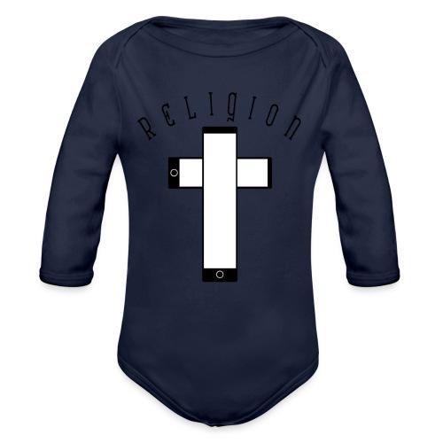 RELIGION - Body orgánico de manga larga para bebé