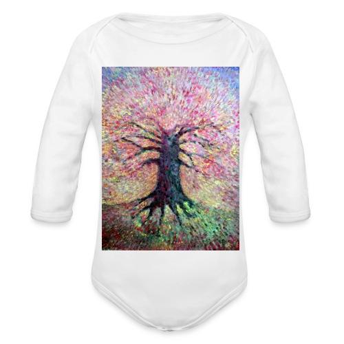 Dam Z Siebie Wszystko - Ekologiczne body niemowlęce z długim rękawem