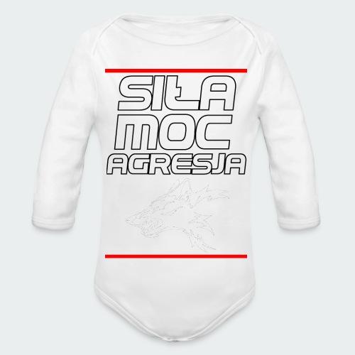 Męska Koszulka Premium TheWolf - Ekologiczne body niemowlęce z długim rękawem