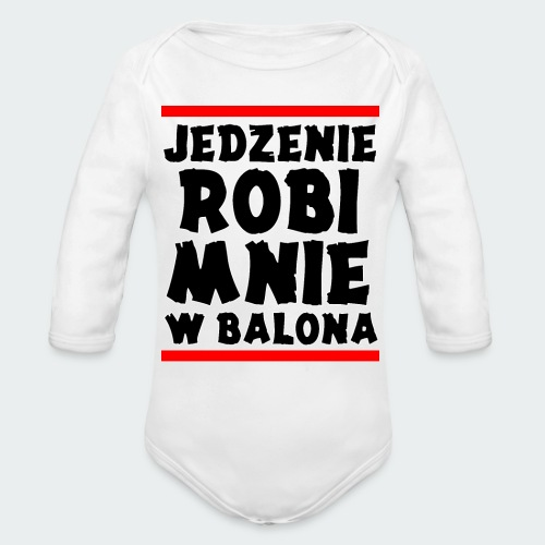 Damska Koszulka Premium JRBWB - Ekologiczne body niemowlęce z długim rękawem