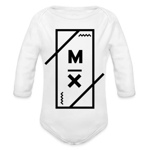 MX_9000 - Baby bio-rompertje met lange mouwen