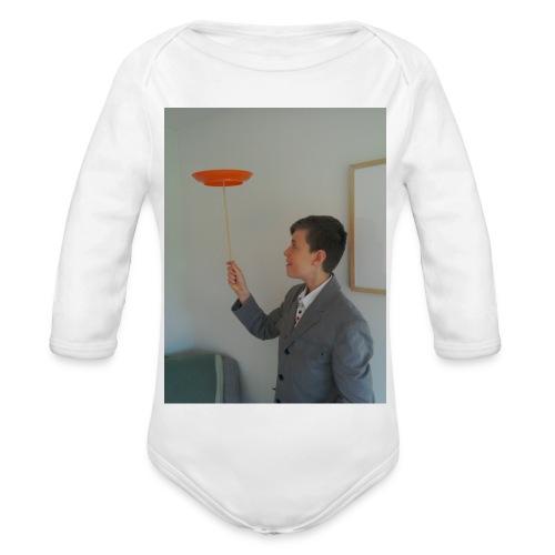 LUKEY MAGIC CIRCUS MERCH - Organic Longsleeve Baby Bodysuit