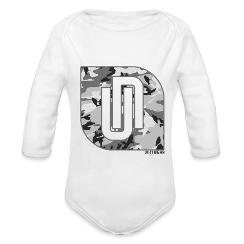 Unitwear – Camo UN Tshirt - Baby bio-rompertje met lange mouwen