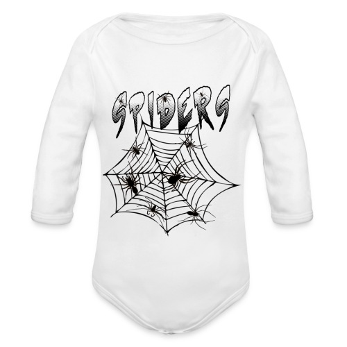 Spiders - Vauvan pitkähihainen luomu-body