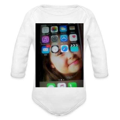 IMG 0975 - Organic Longsleeve Baby Bodysuit