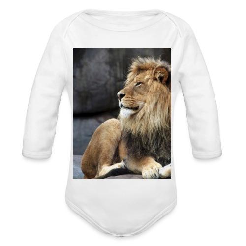 Lion - Body ecologico per neonato a manica lunga