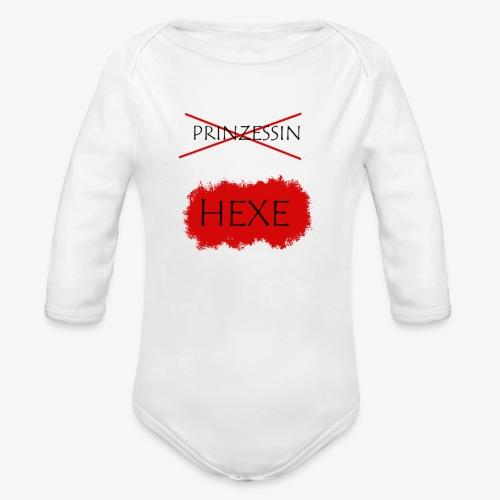 HEXE - Baby Bio-Langarm-Body