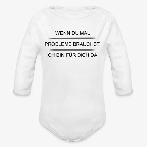 Problem? - Baby Bio-Langarm-Body