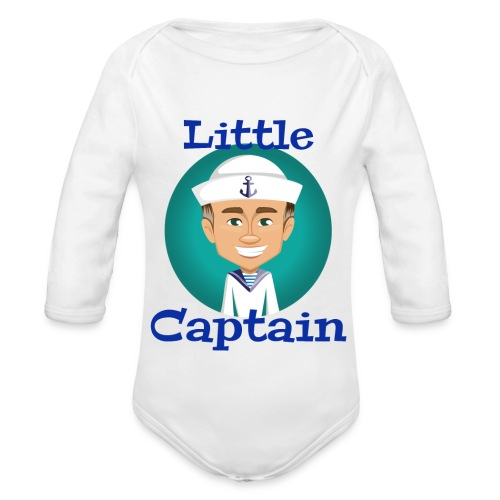 Little Captain - Baby Bio-Langarm-Body