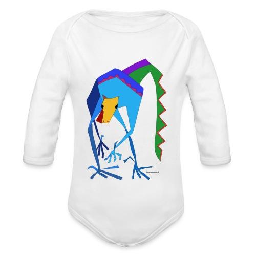 Julio der grosse Drachen - Baby Bio-Langarm-Body