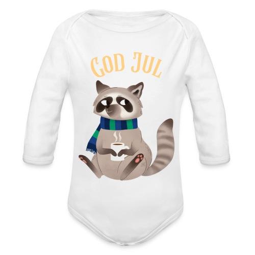 God jul - Økologisk langermet baby-body