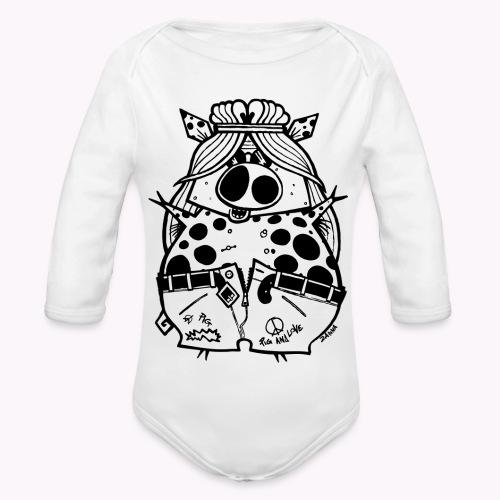 hippig - Body ecologico per neonato a manica lunga