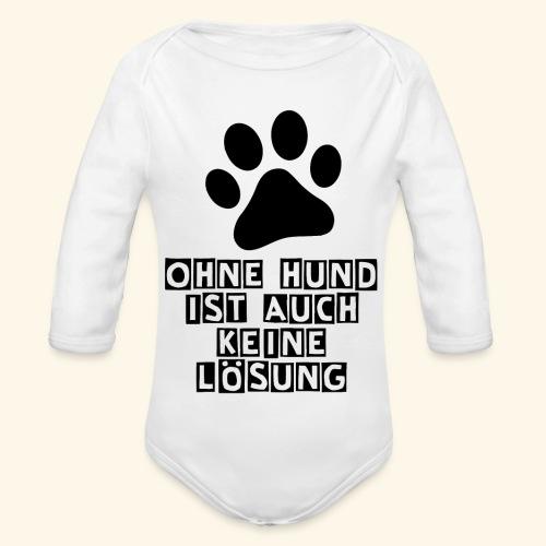 Accessoires für Hundefreunde - Baby Bio-Langarm-Body