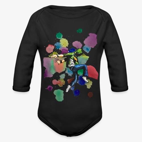 Dancer - Organic Longsleeve Baby Bodysuit