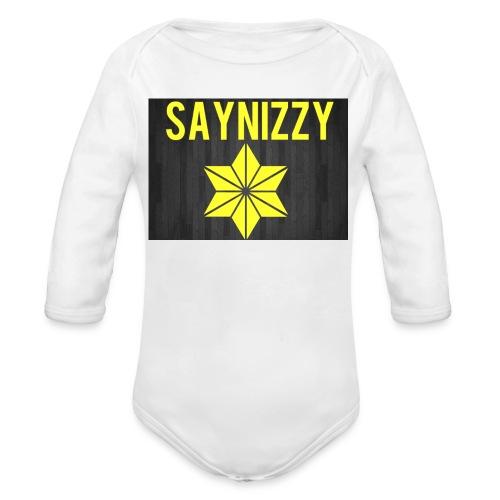 Say nizzy - Organic Longsleeve Baby Bodysuit