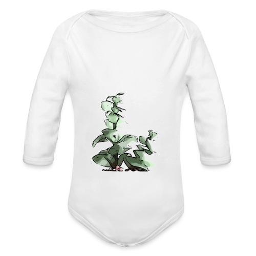BabyCute 'Cactus Stalk' by Isobel & Kristoff - Organic Longsleeve Baby Bodysuit