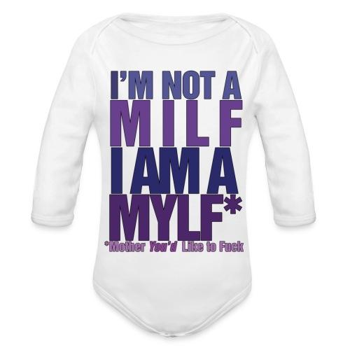 MYLF - Økologisk langermet baby-body