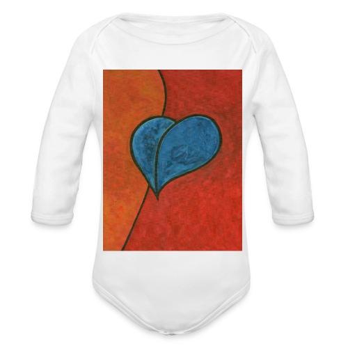 Czekam - Ekologiczne body niemowlęce z długim rękawem