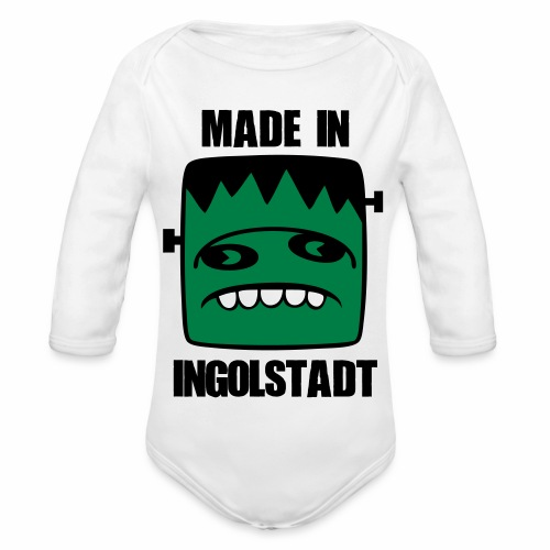 Fonster made in Ingolstadt - Baby Bio-Langarm-Body