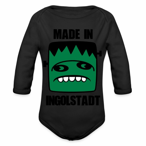 Fonster made in Ingolstadt - Baby Bio-Langarm-Body