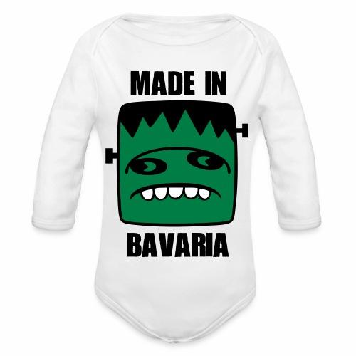 Fonster made in Bavaria - Baby Bio-Langarm-Body