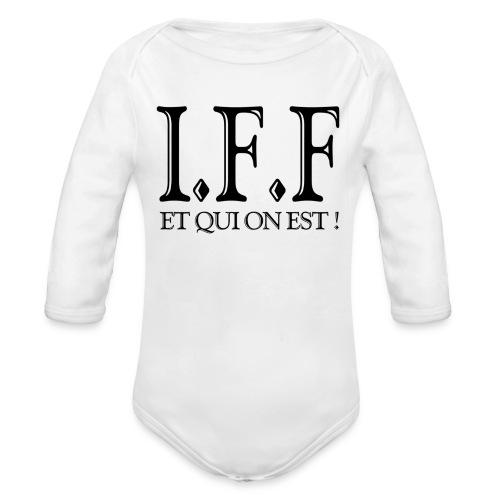 IFF FACISTI FORA - Body Bébé bio manches longues