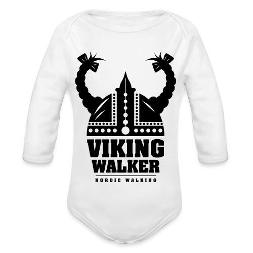 Nordic Walking - Lady Viking - Vauvan pitkähihainen luomu-body