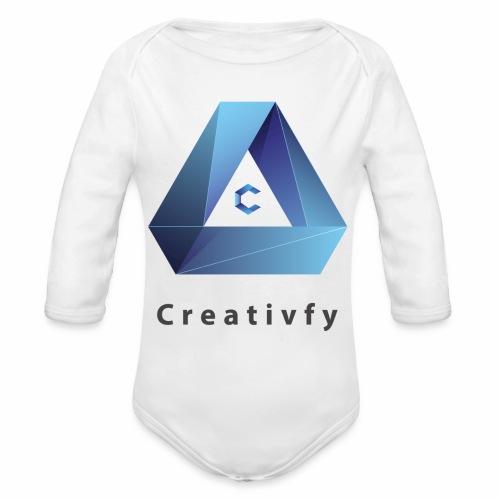 creativfy - Baby Bio-Langarm-Body