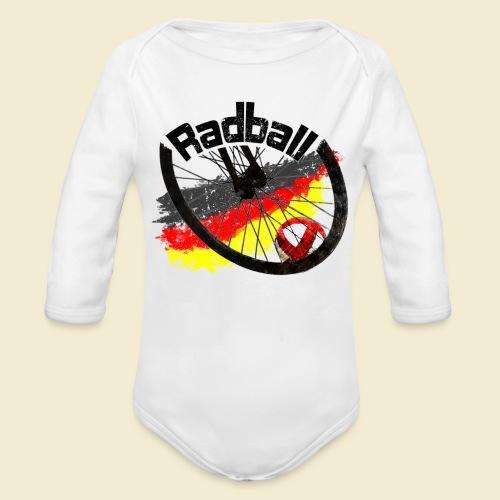 Radball | Deutschland - Baby Bio-Langarm-Body