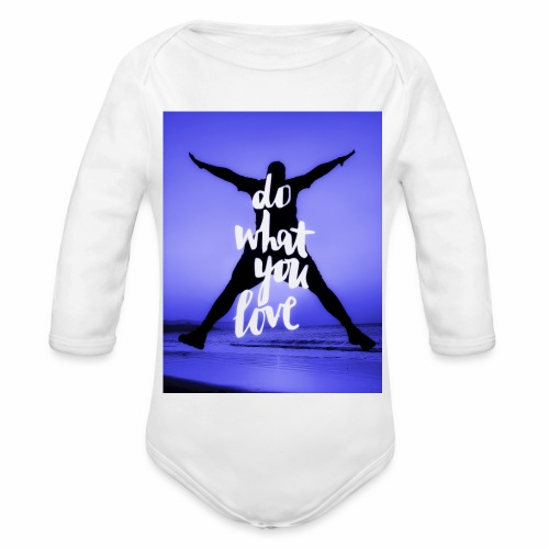 Sunset Beach 2 - Baby Bio-Langarm-Body