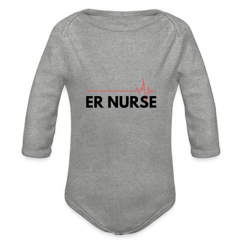Er nurse - Body ecologico per neonato a manica lunga