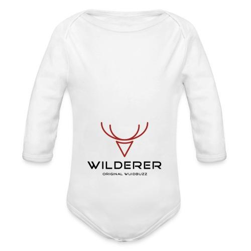 WUIDBUZZ | Wilderer | Männersache - Baby Bio-Langarm-Body